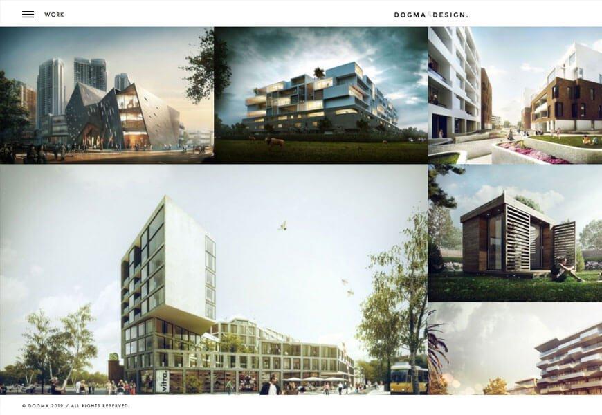 architecture design WordPress theme