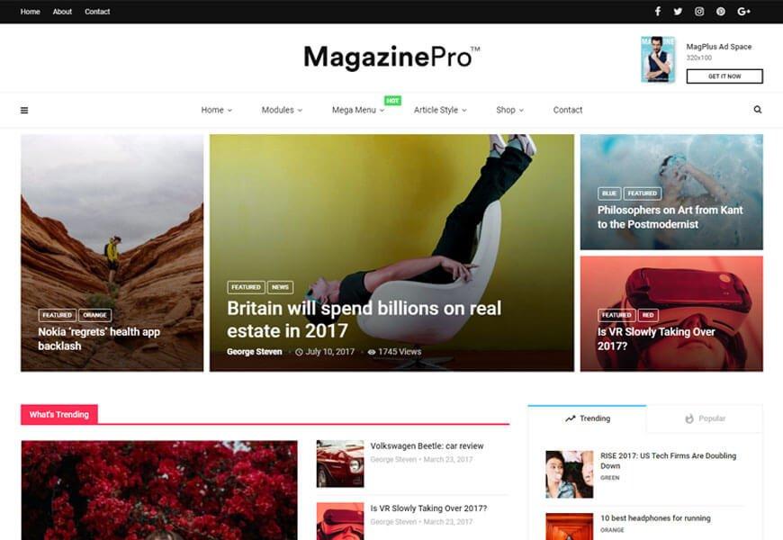 Multipurpose elementor WordPress theme