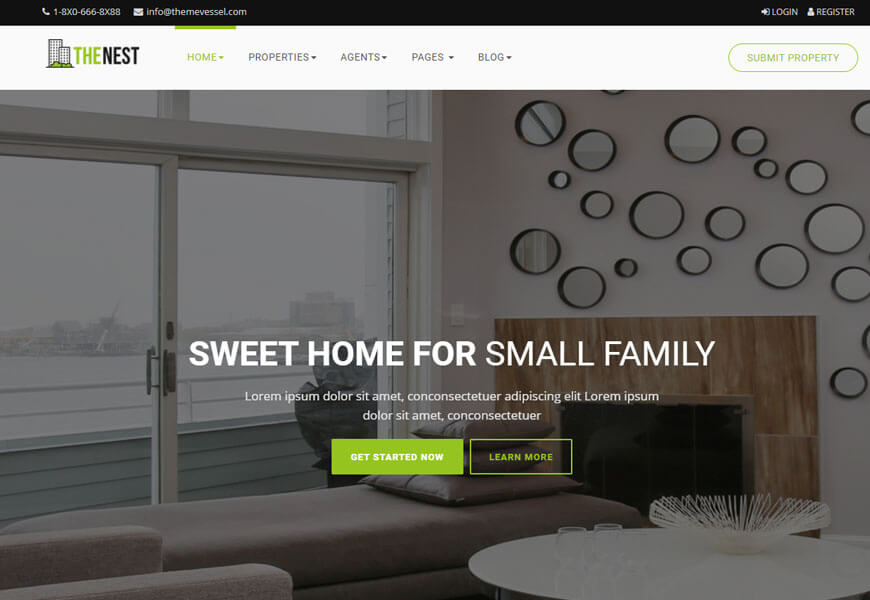 Nest is another real estate website
