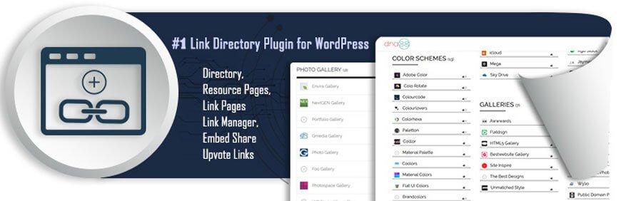 Simple link directory plugins