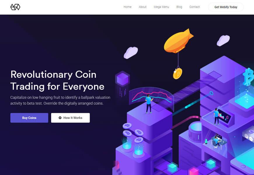 Webify is lightweight theme