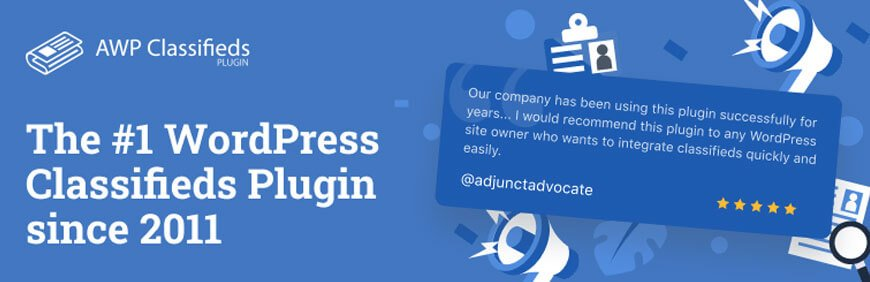 AWP classified is best free business directory plugin for WordPress