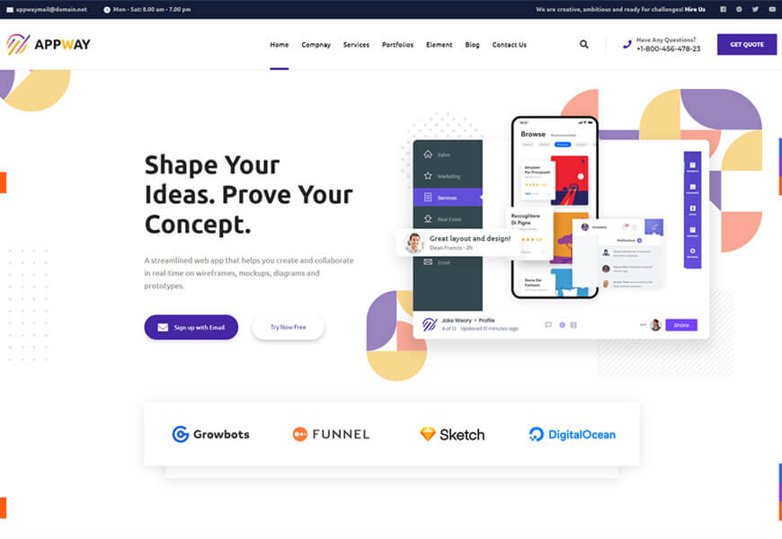 Appway is another best software company WordPress theme