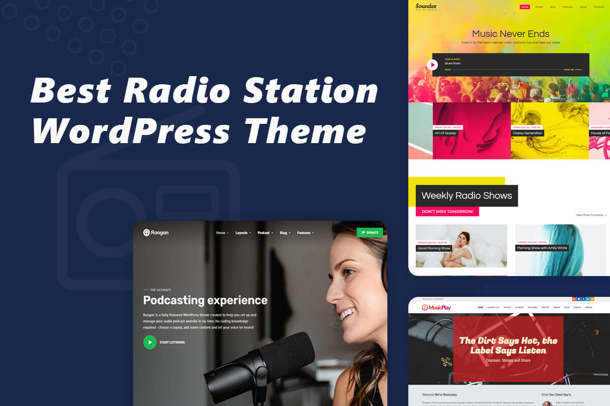Best radio station WordPress theme