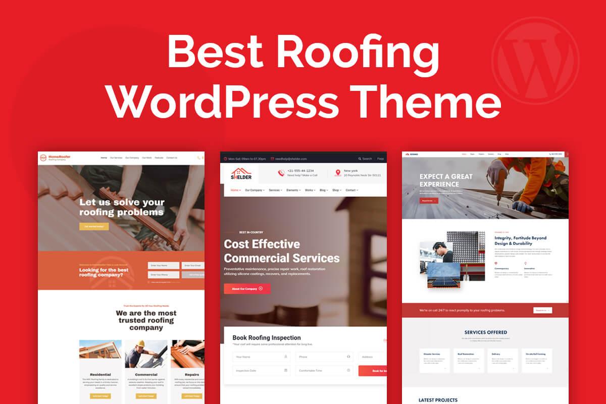 Best Roofing WordPress Theme