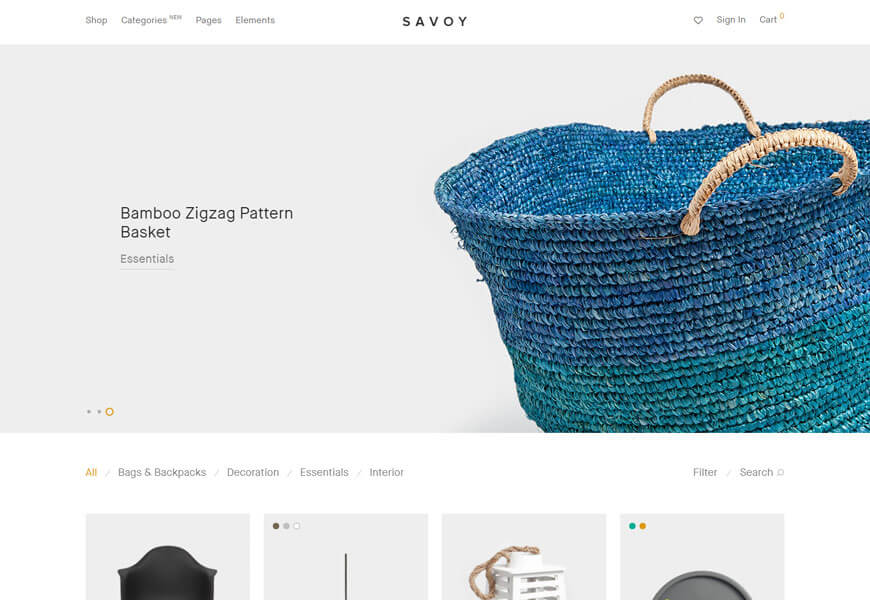 Savoy is premium WordPress WooCommerce theme