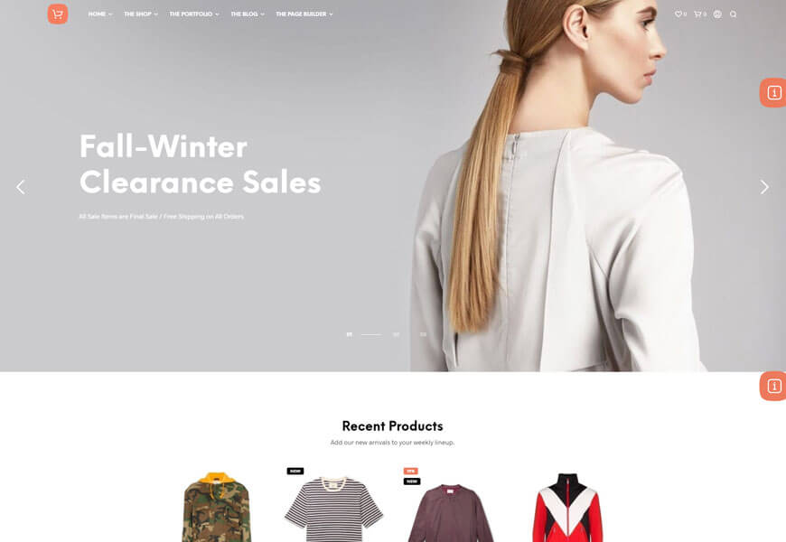 Shopkeeper is a fully responsive WooCommerce theme