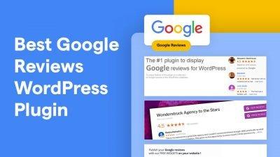 Best Google Reviews WordPress Plugin