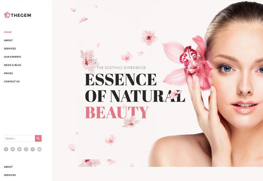 best beauty salon WordPress themes