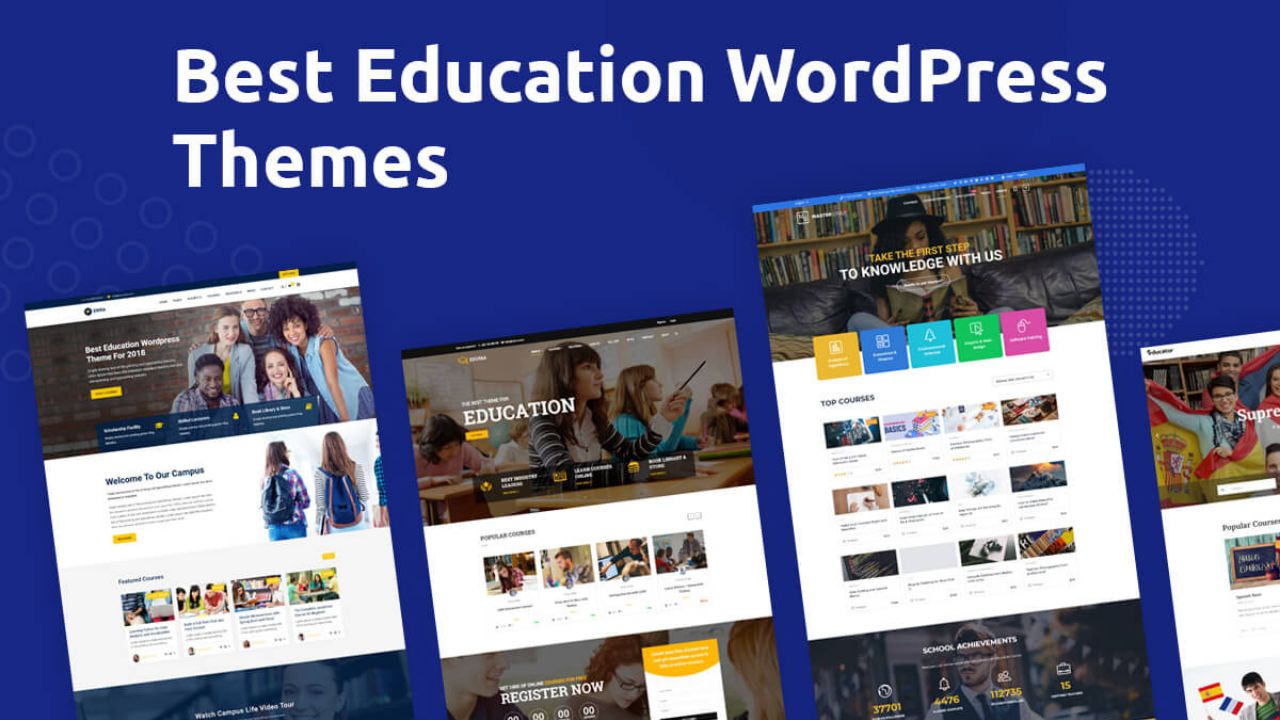 best WordPress theme for educational websites