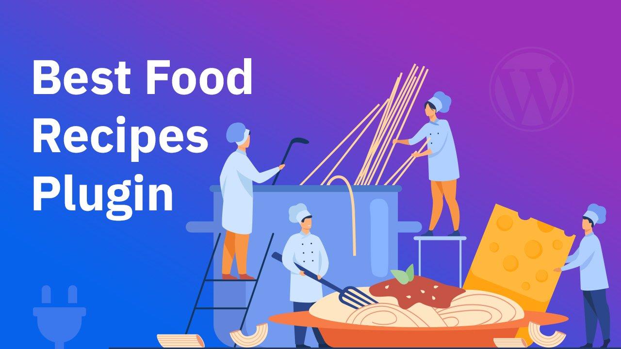 food recipes WordPress plugin