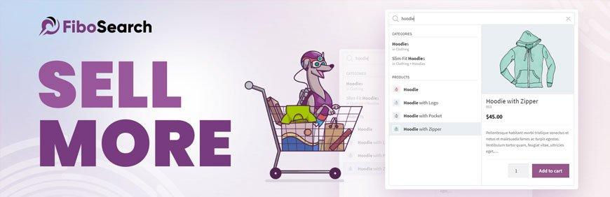 FiboSearch - best woocommerce plugins to increase sells