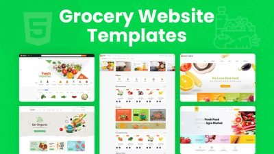 Grocery Website Templates