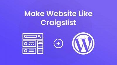 How to make a website like Craigslist