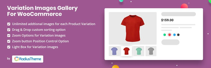 Variation Images Gallery for WooCommerce - best WooCommerce plugin