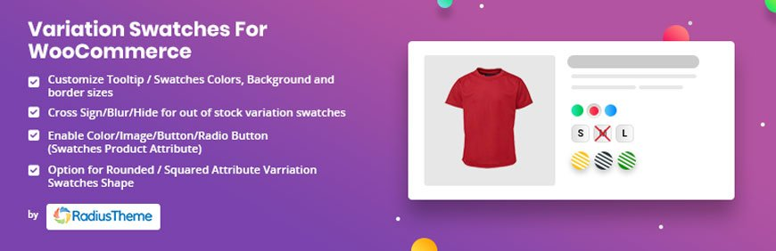 Variation Swatches for WooCommerce - best WooCommerce plugin