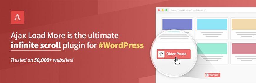 Ajax load more WordPress lazy load plugin