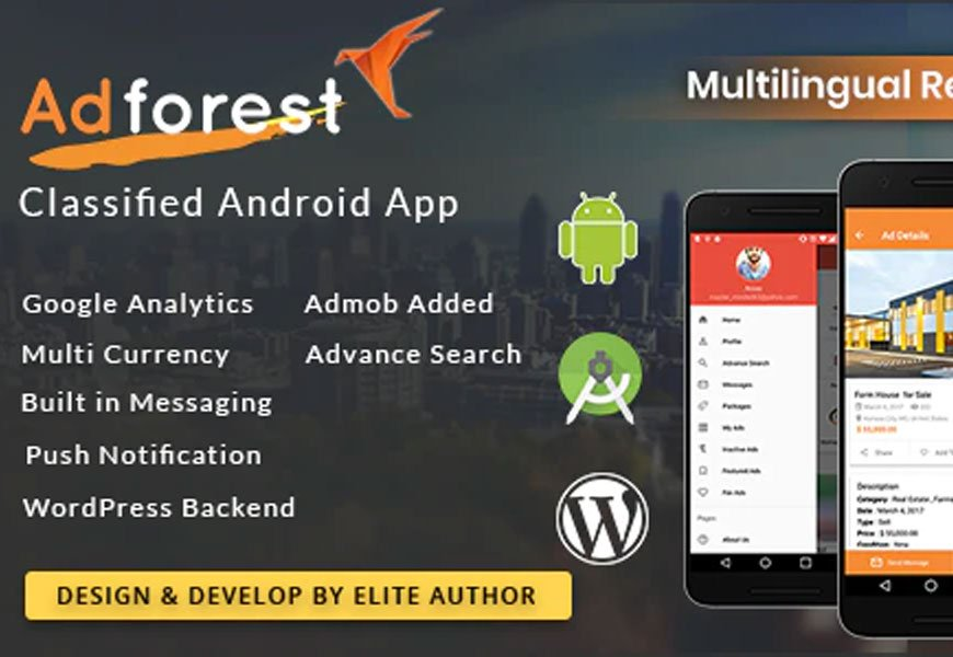 AdForest - Classified ads Android App & iOS apps