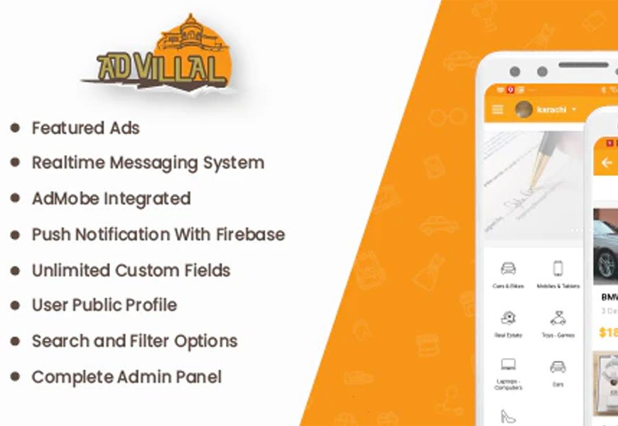 Advilla - Classified ads Android App