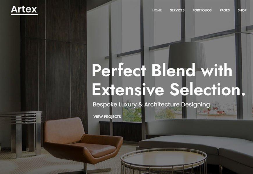 Artex - Best Architecture WordPress Themes