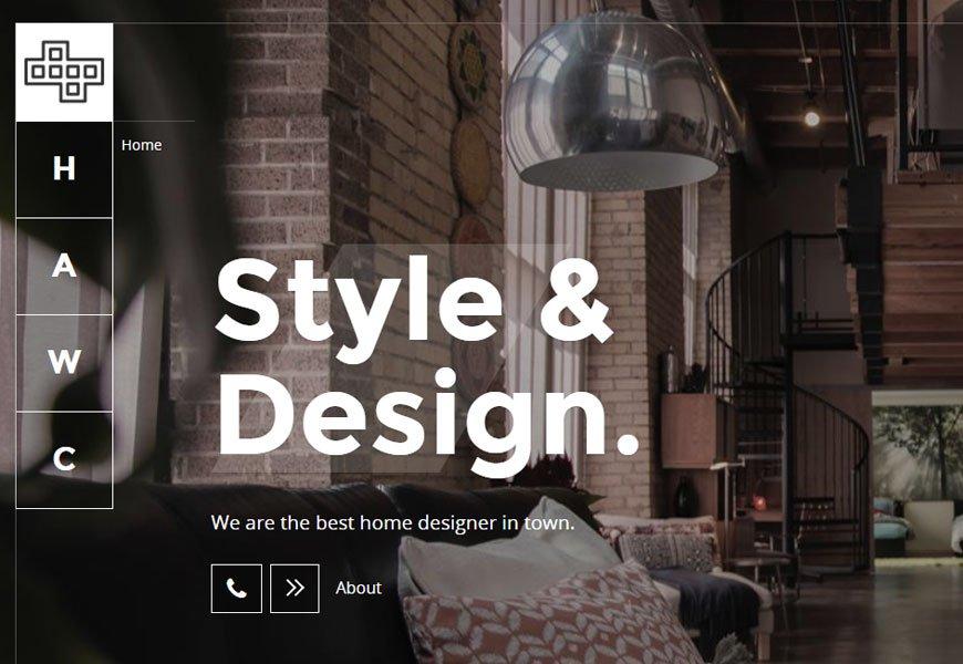 Brainux - portfolio website templates