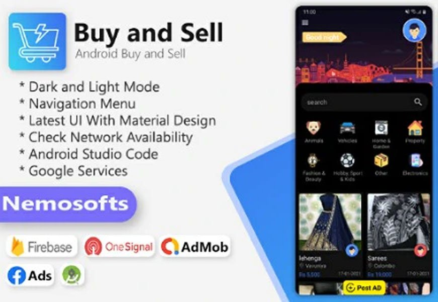 buy and sell - Classified ads Android App