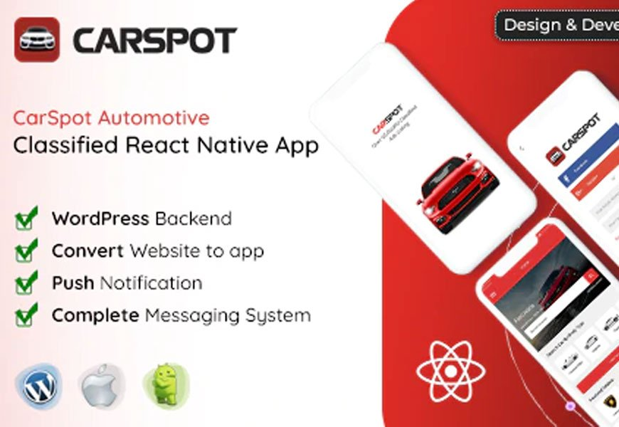 CarSpot - Classified ads Android App