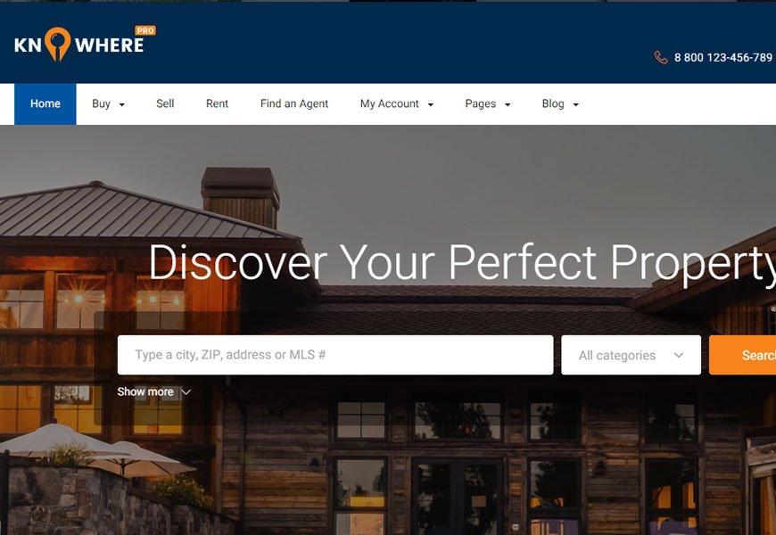 Knowhere Pro - classified ads WordPress theme