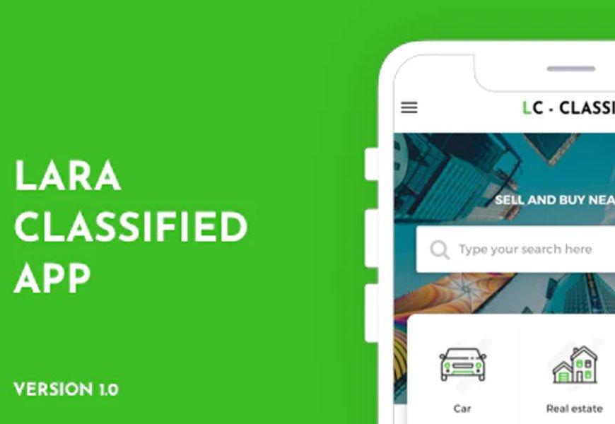 Lara - classified app codecanyon