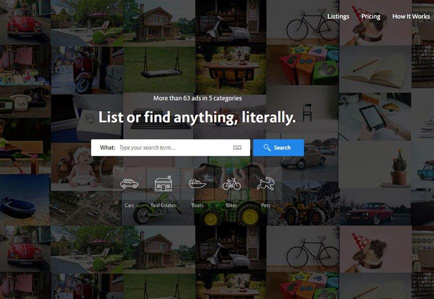 Lisfinity - classified WordPress theme