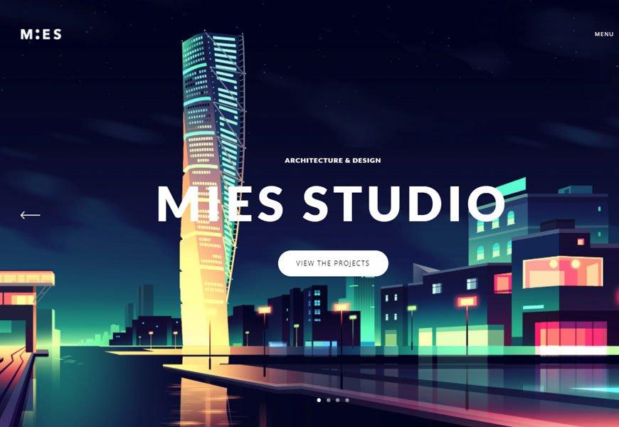 MIES - Architecture WordPress Theme