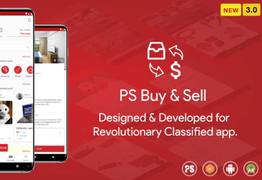PS Buy & Sell - Classified ads Android App