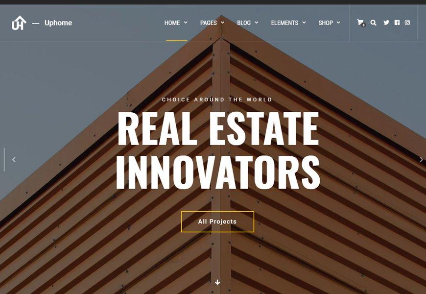 UpHome - Architecture WordPress Theme