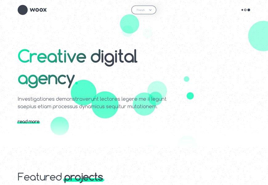 Woox - portfolio website templates