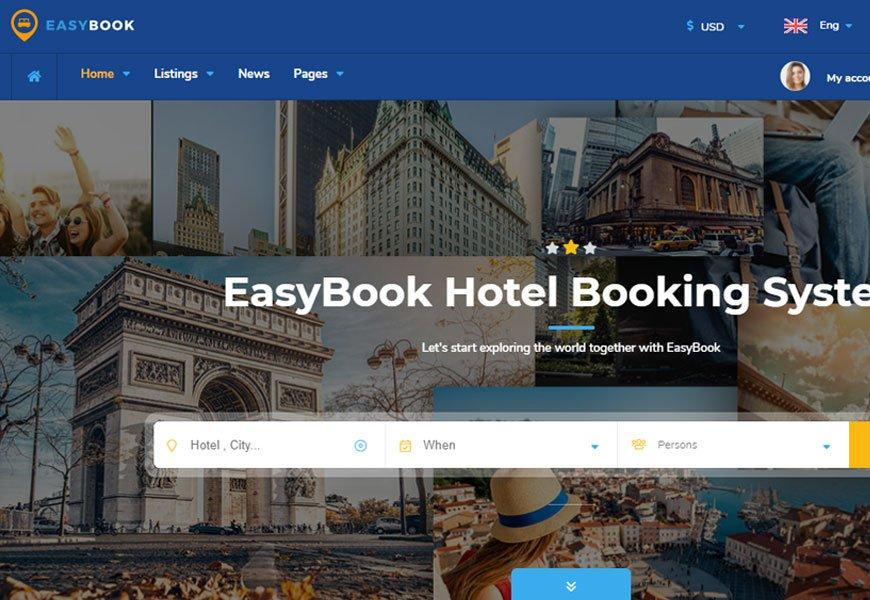 Easybook - best directory website templates
