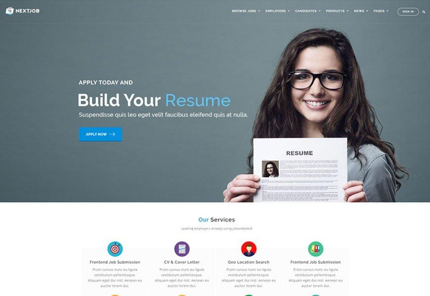 JobCareer - job board WordPress theme
