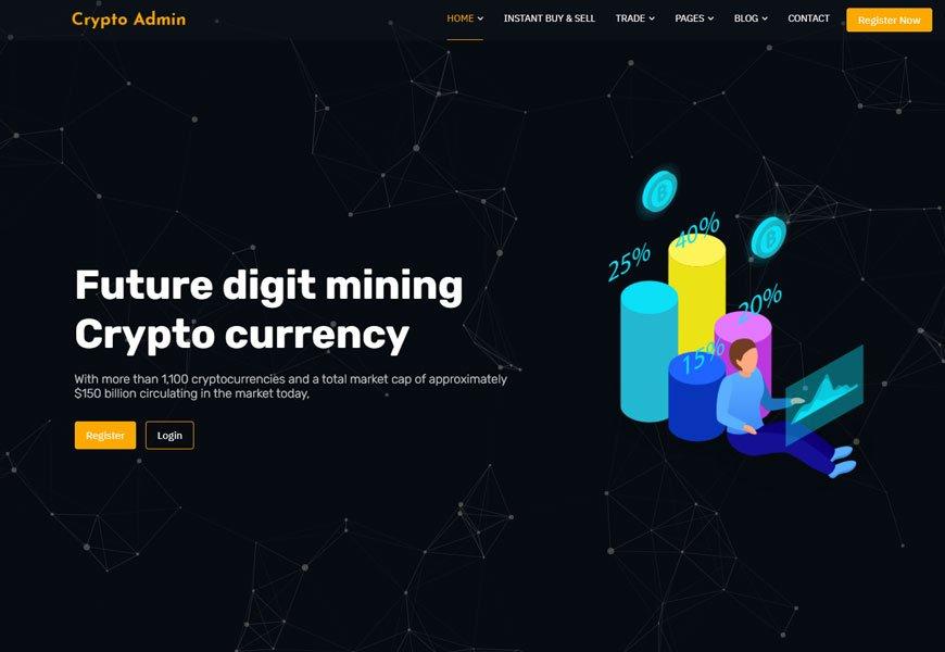 Crypto Admin