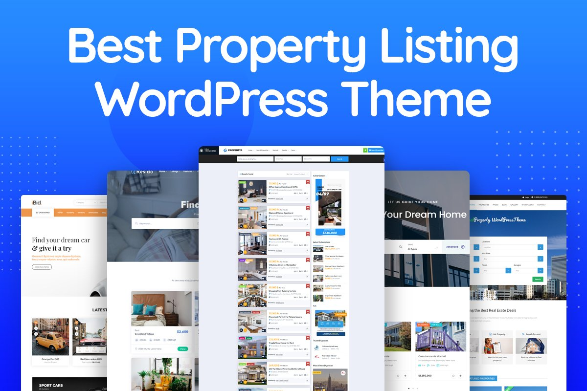 Property Listing WordPress Themes