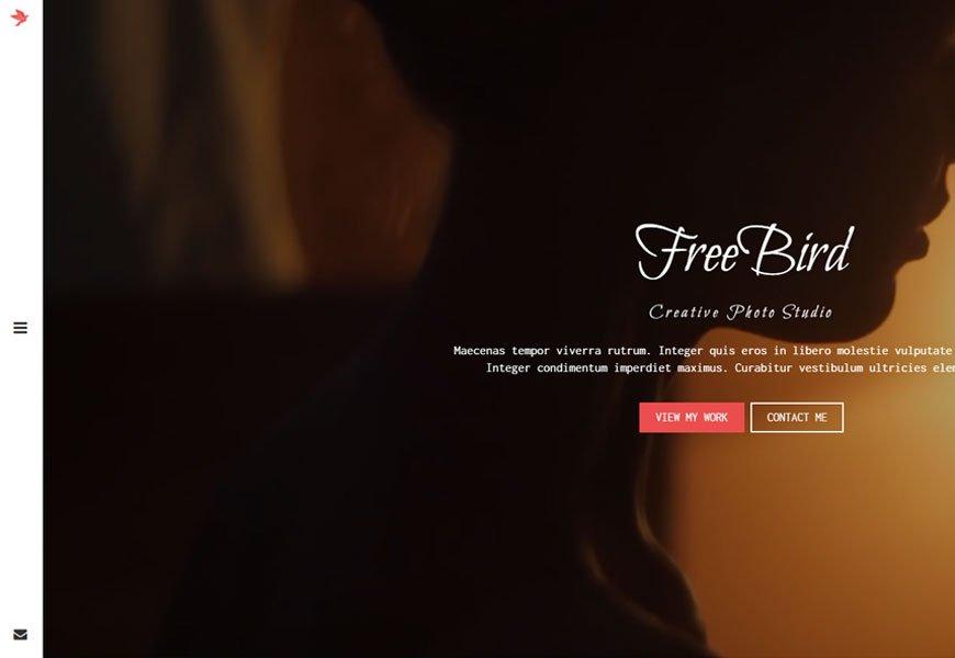FreeBird - comprehensive portfolio website template