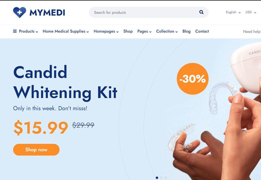 MyMedi - medical website template