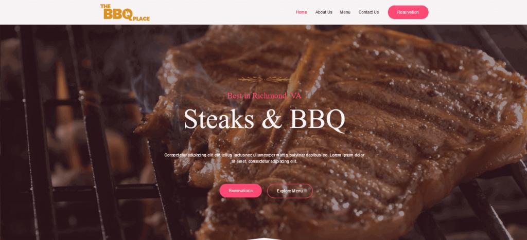 WpAstra - restaurants website template