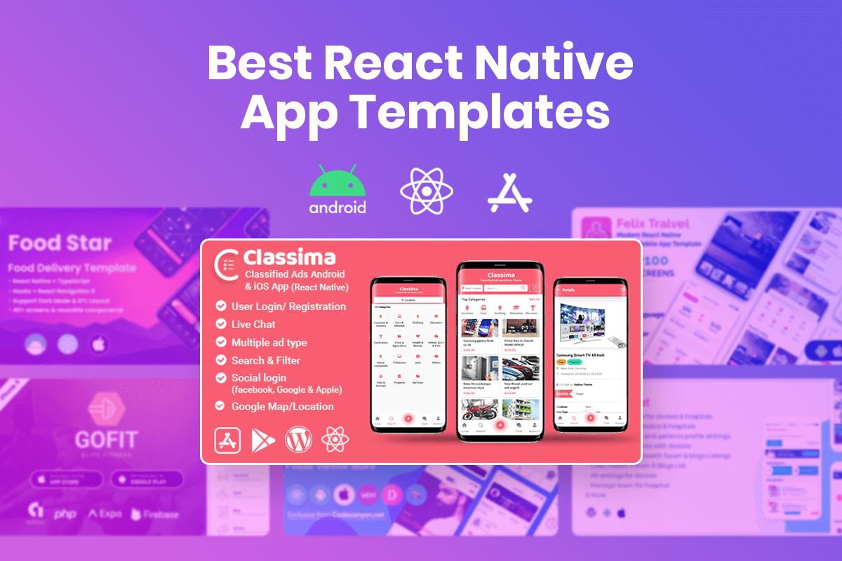 React Native App Templates