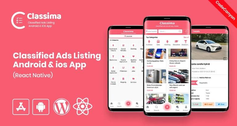 Classima - Classified ads mobile app