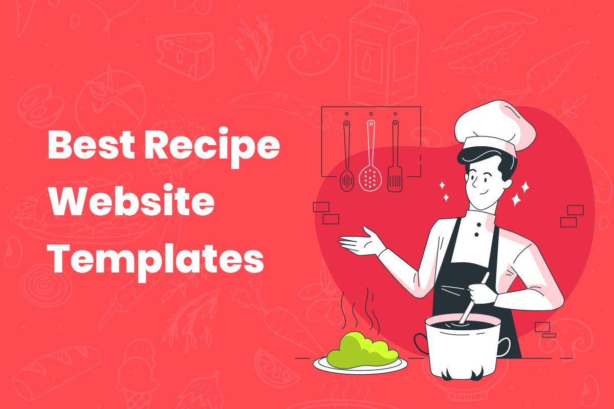 Recipe website templates