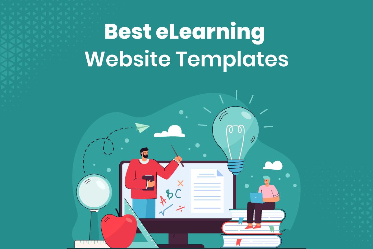 eLearning website templates