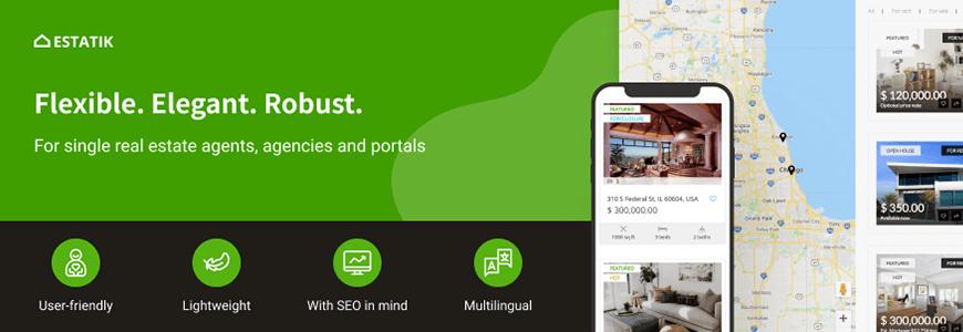 Estatik - real estate WordPress plugins