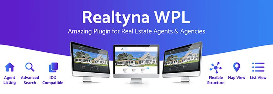 Realtyna WPL - property listing WordPress plugins