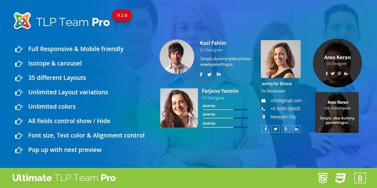 TLP Team Pro for Joomla