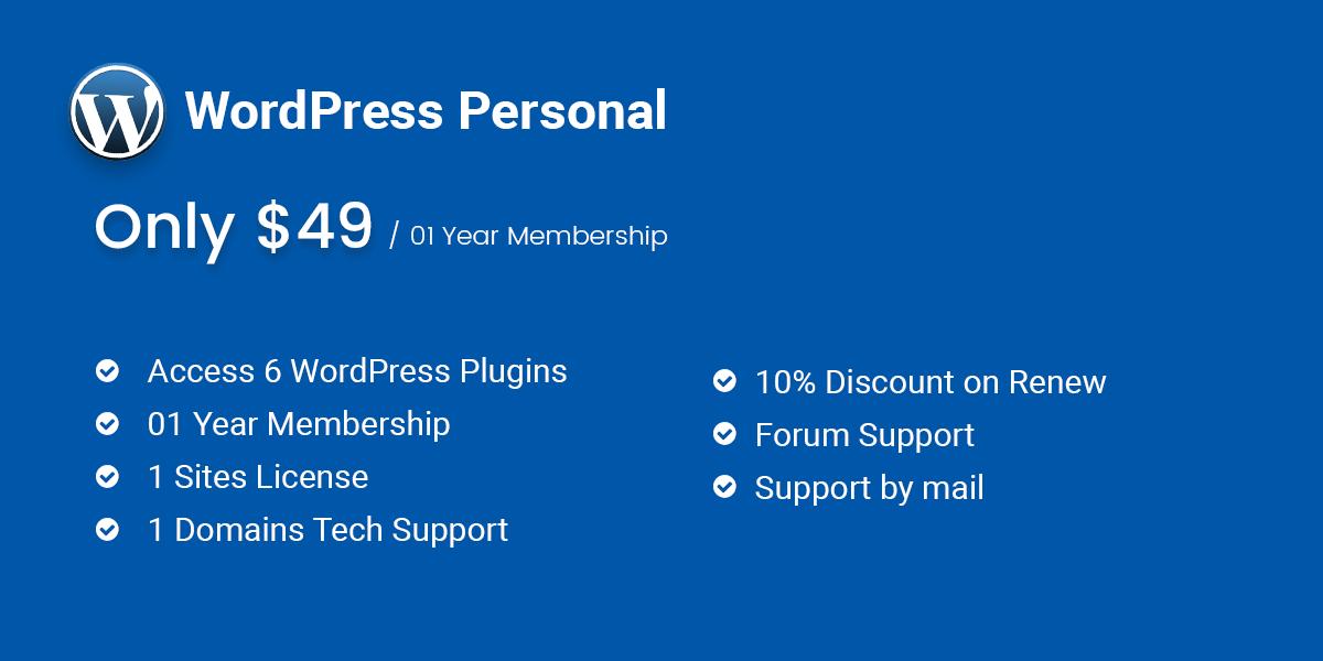 WordPress Personal