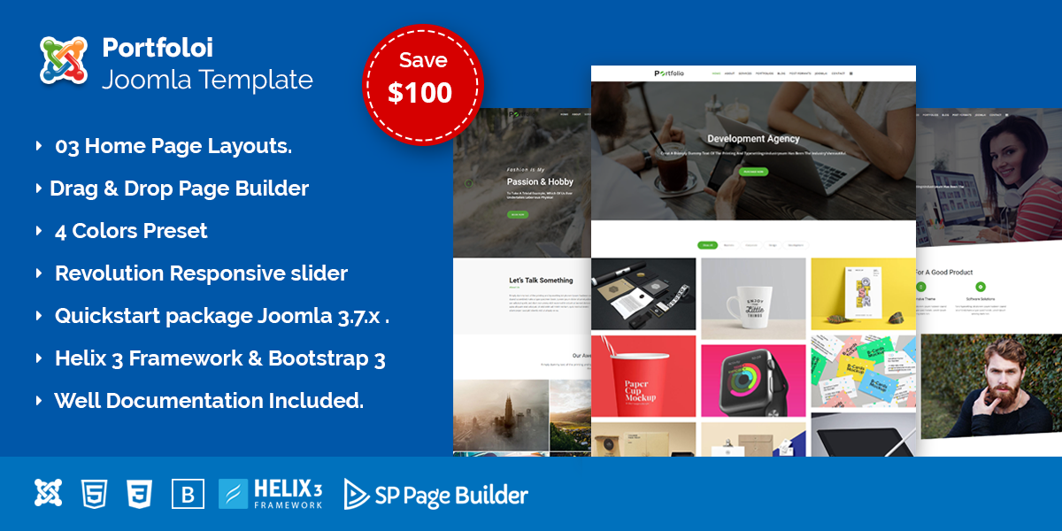 Portfolio – Creative Business & Portfolio Joomla Template
